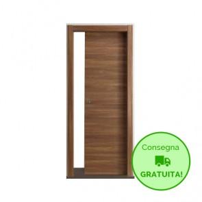Porta Scorrevole Interna Reversibile EASY Melaminico Cognac h. 210 cm - 4 Dimensioni