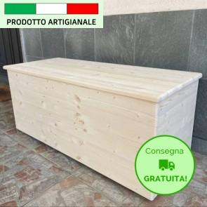 Onlywood Cassapanca in legno Woody - SU MISURA