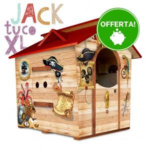 Casetta in legno da giardino per bambini XL Fantasia JACK