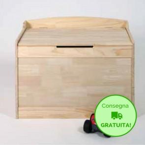Cassapanca in legno da Interno SOPHIE - 80 x 50 x 60h cm