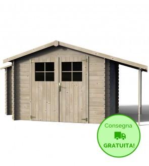 Decor et jardin casetta Talcy in legno di Abete 4,39 x 2,33 m