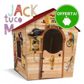 Casetta in legno da giardino per bambini M Fantasia JACK