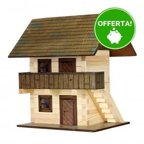 GIOCO COSTRUZIONE per bambini in legno Granaio - 126 Pezzi