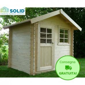 Casetta in legno IMPREGNATO per esterno LAVAL 238 x 198 x 239 h. cm