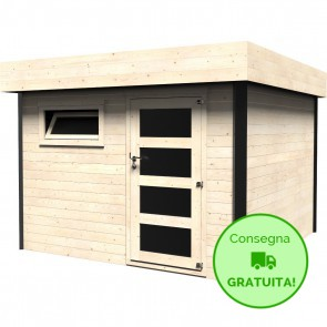 Decor et jardin casetta Evan in legno  Abete 3,18 x 3,26 m