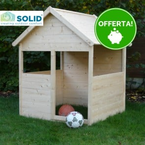 Casetta in legno per bambini BIMBI 120 x 120 cm