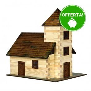 GIOCO COSTRUZIONE per bambini in legno Chiesa - 213 Pezzi
