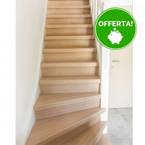 GRADINO FLORIDA OAK rivestimento per scale in MDF - 130 x 38 x 5,6 cm