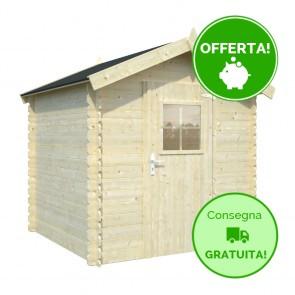 Casetta in legno FLIPPER 205 x 205 cm