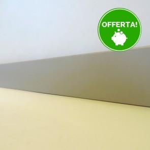 BATTISCOPA MDF GRIGIO 14 x 60 mm. per pavimenti laminati