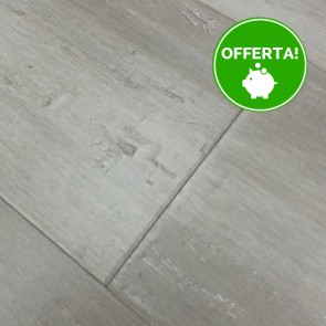 Parquet vero legno di BAMBOO LONDON GREY 14 x 142 X 1850 mm