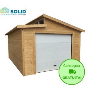 Garage-Box TORINO 360 x 570 x 292  h. cm con portone motorizzato