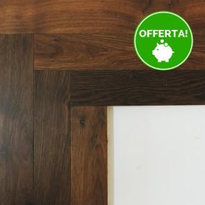 Parquet Prefinito SPINA ITALIANA - ROVERE THERMO Sp.10 mm verniciato spazzolato