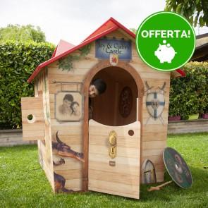 Casetta in legno da giardino per bambini XL Fantasia ARTU'