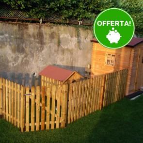 CANCELLETTO in legno per steccato ROBUSTO  - 100 x 120 h. cm