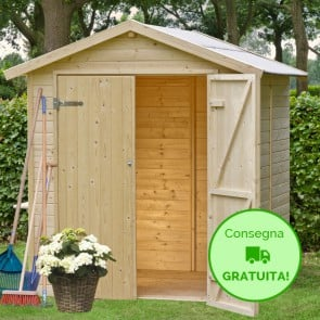 casette case legno garage