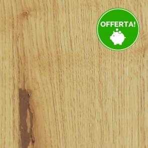 Parquet Prefinito ROVERE NATURALE SPAZZOLATO CD 10x120x1250 posa incollata - serie New 120