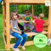 Fungoo Free Time in legno Abete 150 x 130 cm - Accessorio Parco Giochi