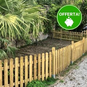 Steccato recinto per cani ROBUSTO professionale altezza 120 cm.