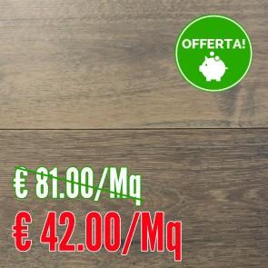 Parquet ROVERE GRIGIO VINTAGE linea FORTE verniciato spazzolato 14x180x1900