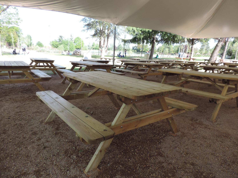 Tavoli da picnic in legno per la PA