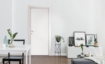 Porta interna in legno a battente Effebiquattro