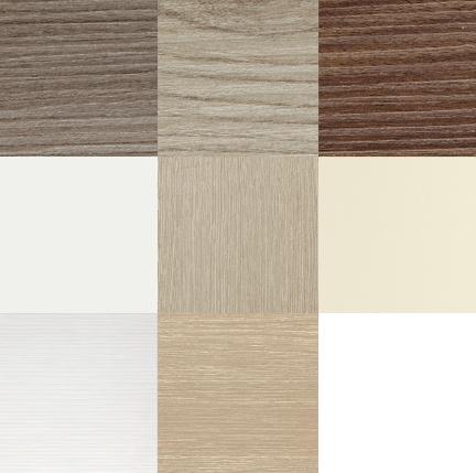 Porte interne in legno varianti di colore