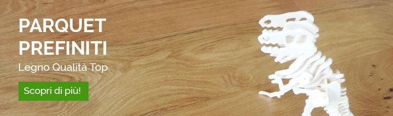 Categoria parquet prefiniti in legno di qualità