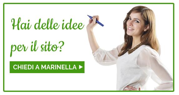 Hai idee per il sito? Chiedi a Marinella