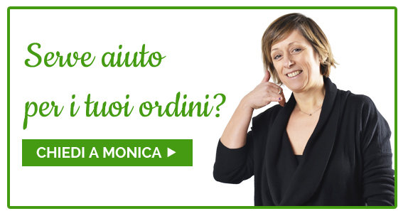 Serve aiuto per gli ordini? Chiedi a Monica