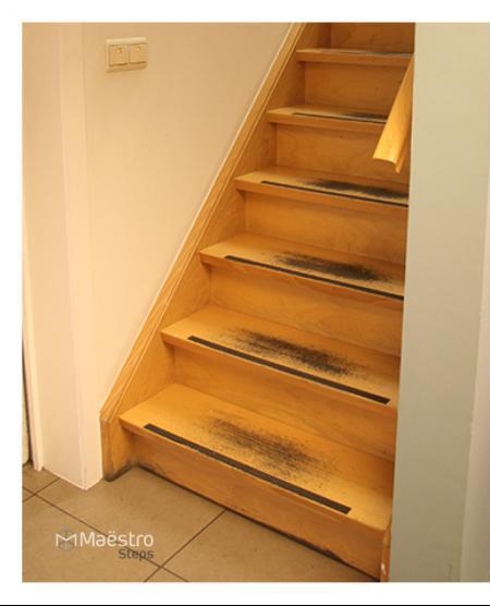 Rivestimenti gradini legno