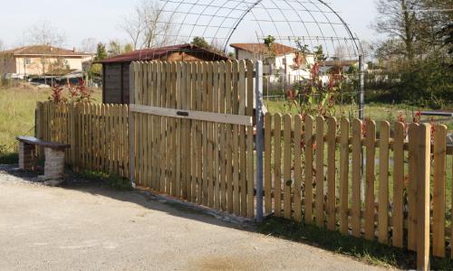 Realizzare uno steccato in legno fai da te