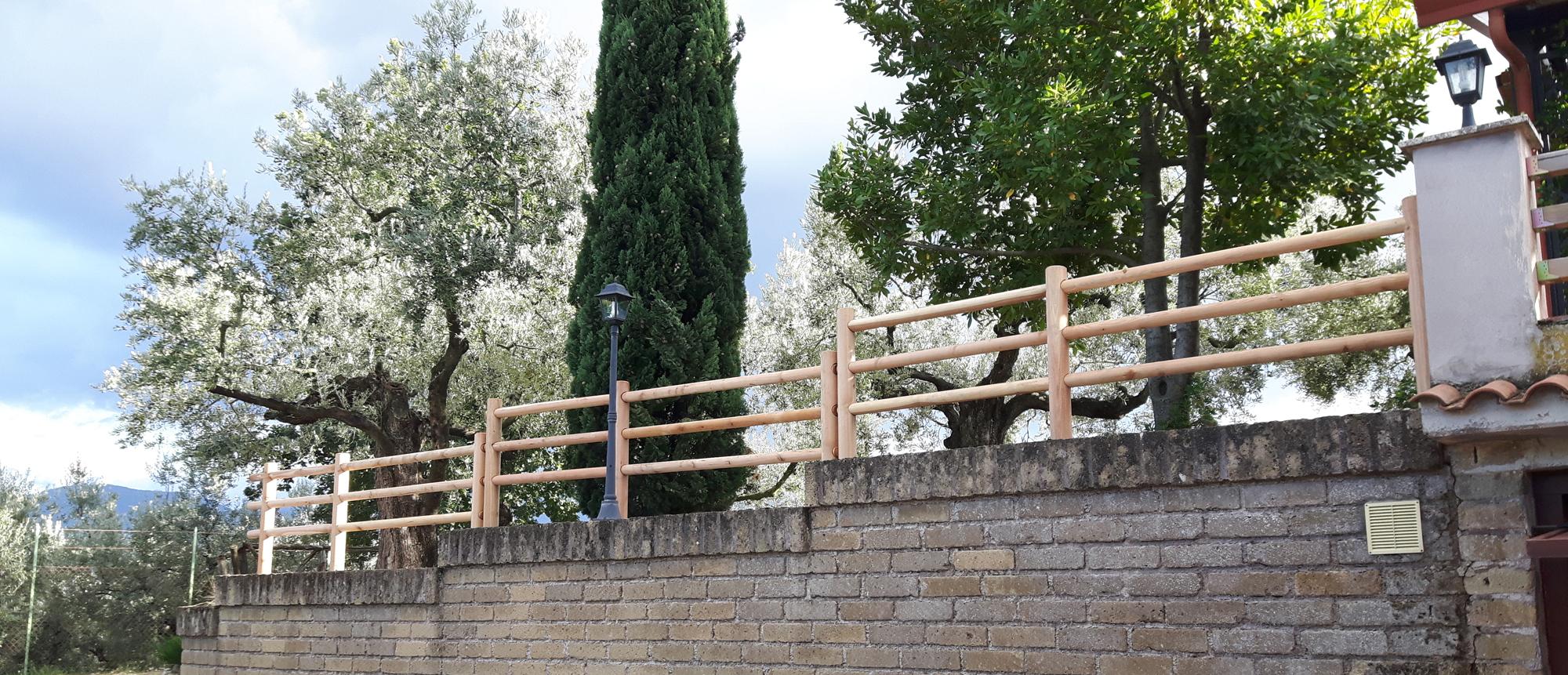 Staccionate e Steccati Onlywood a Gavi Alessandria